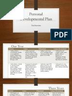 occt 508 - personal development plan powerpoint - portfolio
