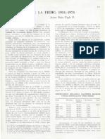 Los 40 Años de La FIEMC 1934-1974