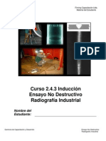 Manual Curso 2.4.3 Induccion Ensayo No Destructivo Radiografia Industrial