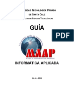 Guia MAAP Informatica Aplicada MIN-420