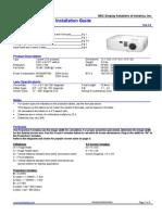Nec Np400 Technical