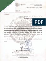 [Carta Aval] Delegación ENAH 2015-2