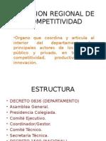 Comisión Regional de Competitividad