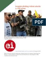 Right-wing Extremists Plotting Violent Attacks on US Muslims, FBI Warns