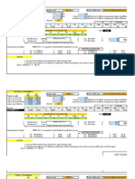 Homework 11 Excel Calculations TAREA ACEROS