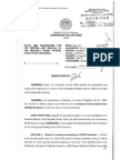 Comelec Resolution 8795- COMELEC RULES AND PROCEDURES FOR THE TESTING AND SEALING OF THE PRECINCT COUNT OPTICAL SCAN (PCOS) MACHINES
