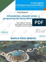 GERENS_Diplomado Minero_Situacion Actual Del Sector Minero_250414