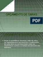 OR+çAMENTO DE OBRAS - 2008 (apresenta+º+úo)