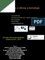 Os Brasileiros e a Ciência