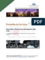 Portafolio de Servicios Industriales Well Services II