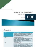 Basics in Finance