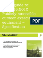 TGO's Guide to PAS 888 - Presentation