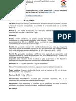 Preinforme Relacion Humedad Pesounit. en Suelos