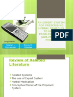 An Expert system proposal