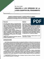 Dialnet-AproximacionALosOrigenesDeLaPsicologiaCognitivaDel-294340