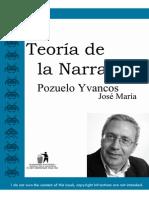 Pozuelo Yvancos, José María - Teoria de La Narracion