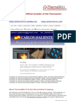 Carlos Saliente - Plumbing and Central heating  services, Oria, Almeria, (Almería) Spain - thermaskirt