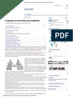 Programas de Motivación Para Empleados_LosRecursosHumanos