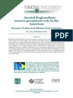 El prominente rol de Brasil en América
