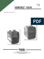 Lincoln Invertec 270T Manual