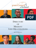 Directory of Migrant Led Organisations in Ireland