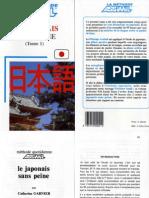 Assimil Le Japonais Sans Peine (Tome 1)