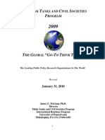 The Think Tanks and Civil Societies Program