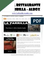 HOTEL RESTAURANTE La Parrilla - Albox - Almeria (Almería) - España - Spain