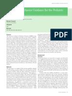 Guideline on Behavior Guidance for the Pediatric Dental Patient