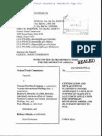 Linville Declaration_FTC Vemma