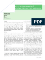 Guideline on Caries-risk Assessment and Management for Infants, Children, and Adolescents