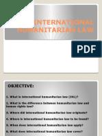 International Humanitarian Law(Power Point)