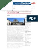 Arquitextos 141- Uma Nova Proposta de Abordagem Da História Da Arquitetura Brasileira