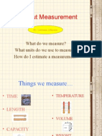 All about measurements