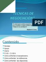 Tecnicas de Negociación CCCauca