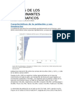 Analisis de Los Determinantes Demograficos
