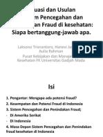 Fraud Persi Sumut Laksono
