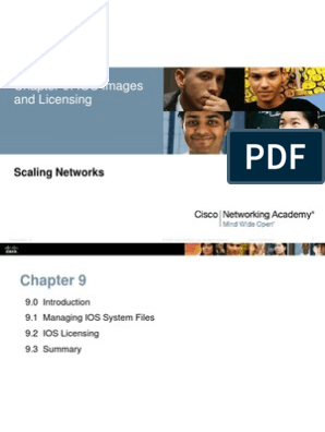 Chapter9_IOS Images and Licensing | Cisco Systems | Ios