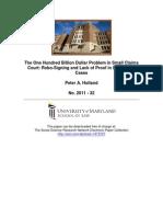 Consumer Debt Analysis Report