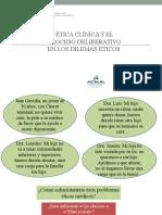 Bioetica - Ética Clínica y El Proceso Deliberativo