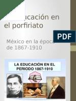 La Educación en El Porfiriato 2