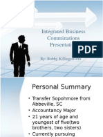 Integrated Business Communications Powerpoint