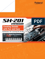 Roland Sh-201 - Guide Book EnGLISH