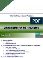 Presentación de Administración de Proyectos