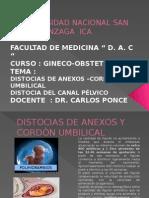 Distocias de Anexos 2015
