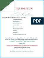 Current Affairs PDF (July 2015) by DayTodayGK