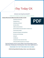 Current Affairs PDF (May 2015) by DayTodayGK