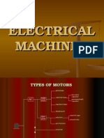 Overview of Electrical machines