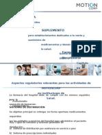(492619117) Presentación Suplemento de Farmacias 5ta. Ed.