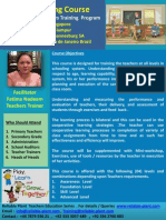 Train the Teacher Training Course Brochure RP Education Series